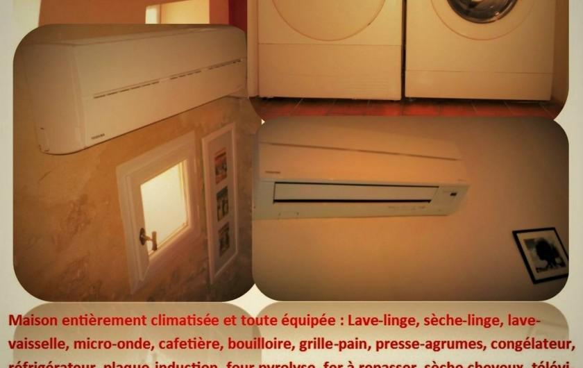 Location de vacances - Maison - Villa à Saint-Rémy-de-Provence - Maison entièrement climatisée et tout équipée.