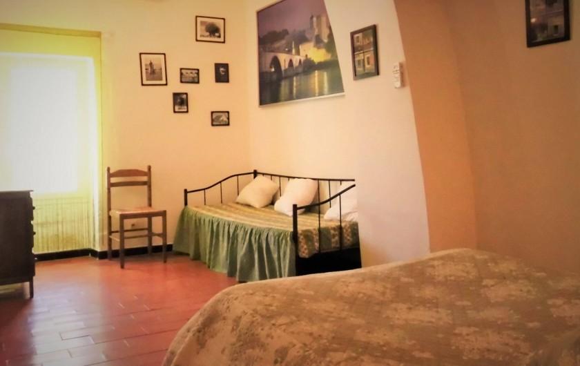 Location de vacances - Maison - Villa à Saint-Rémy-de-Provence - La chambre principale