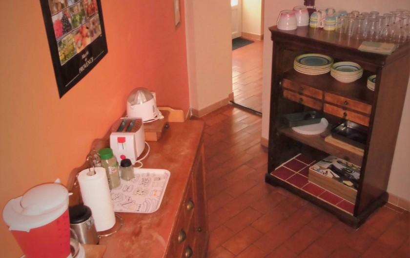 Location de vacances - Maison - Villa à Saint-Rémy-de-Provence - La cuisine