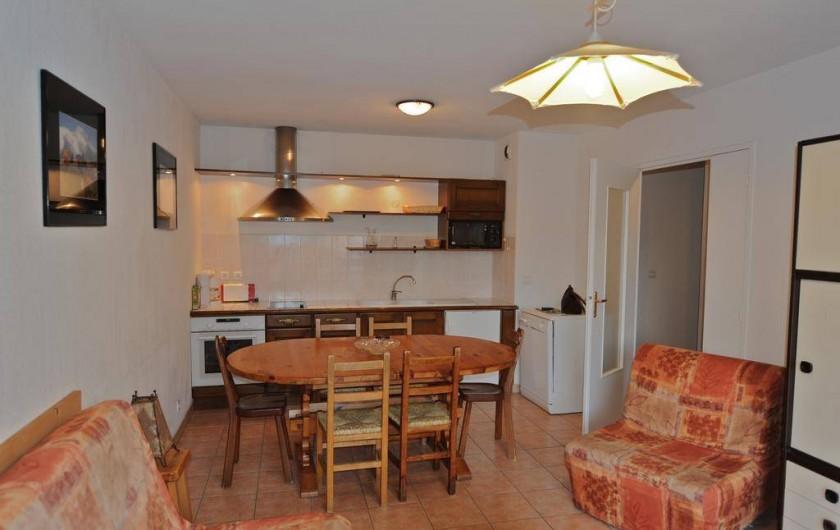 Location de vacances - Appartement à Bourg-Saint-Maurice - côté cuisine