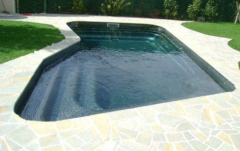 Location de vacances - Villa à Draguignan - piscine noir unique en france