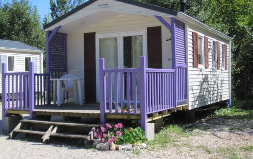 Location de vacances - Bungalow - Mobilhome à Nantua - Mobile-home 2 pers