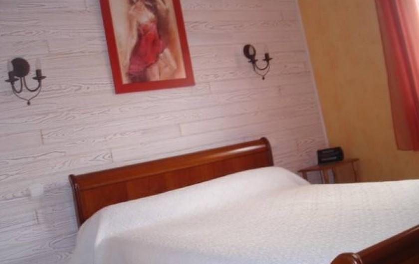 Location de vacances - Maison - Villa à Erdeven - Chambre 1 RDC lit 2 places 140
