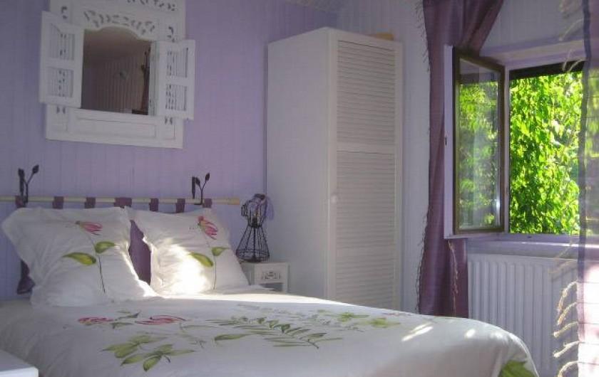 Location de vacances - Chambre d'hôtes à Martelange - Chambre Zen