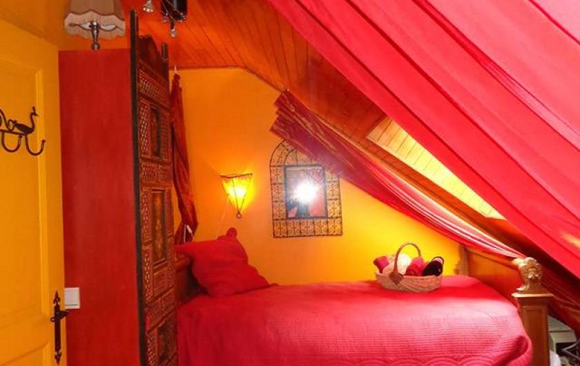 Location de vacances - Chambre d'hôtes à Martelange - Chambre Orientale