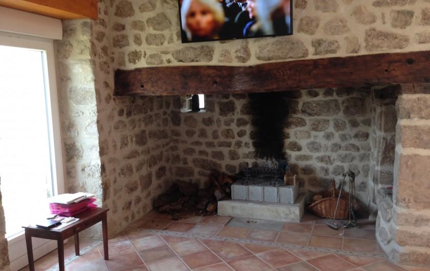 Location de vacances - Maison - Villa à Saint-Julien-Labrousse - toujours façade sud avant la fin des travaux