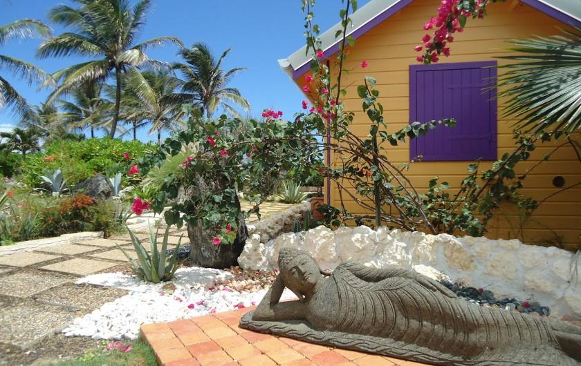 Location de vacances - Villa à Le Moule - Extérieur Bungalow