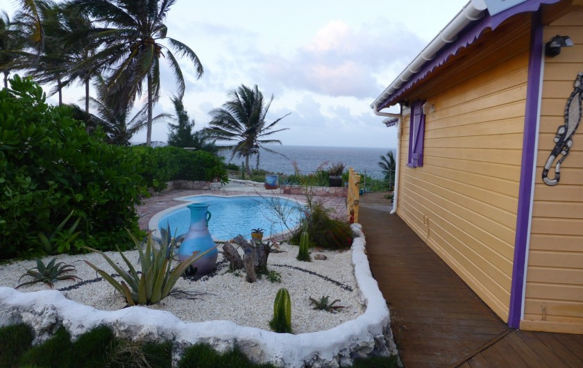 Location de vacances - Villa à Le Moule - entrée principale