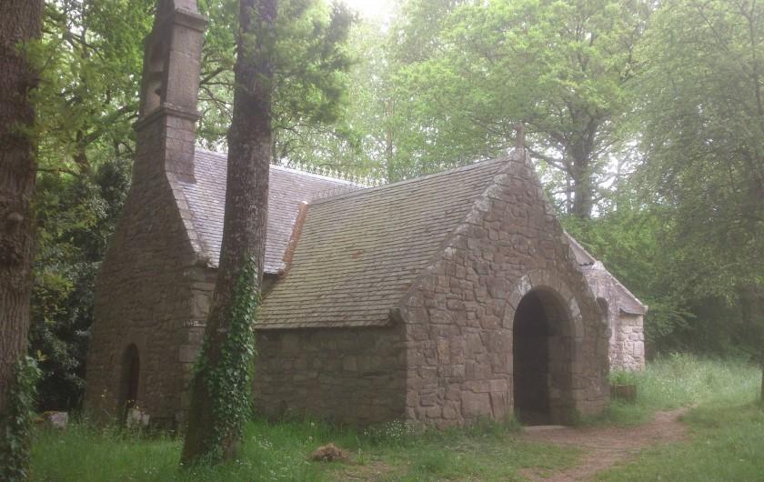 Location de vacances - Maison - Villa à Le Cleu - au détour d' une randonnée dans Brocéliandes ainsi que Merlin