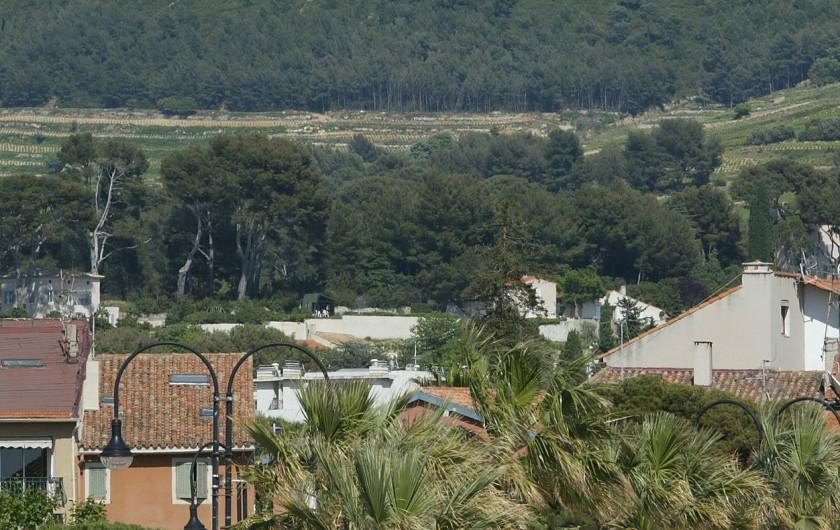 Location de vacances - Appartement à Cassis - LA COURONNE DE CHARLEMAGNE