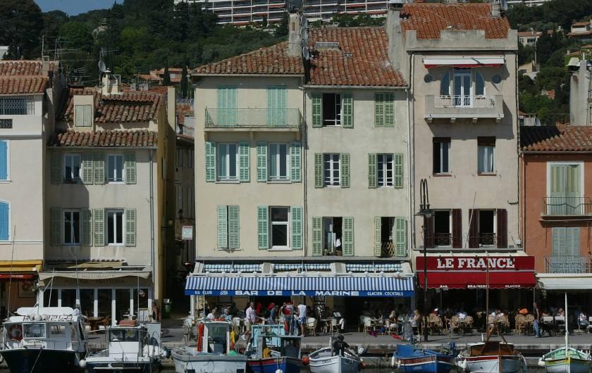 Location de vacances - Appartement à Cassis - LES MAISONS DE PECHEURS