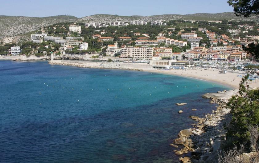 Location de vacances - Appartement à Cassis - LA PLAGE BLEUE