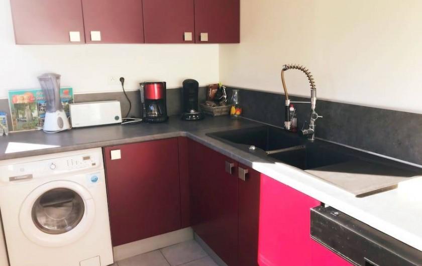Location de vacances - Appartement à Cassis - CUISINE FONCTIONNELLE
