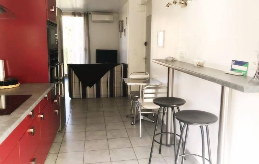 Location de vacances - Appartement à Cassis - CUISINE AMERICAINE