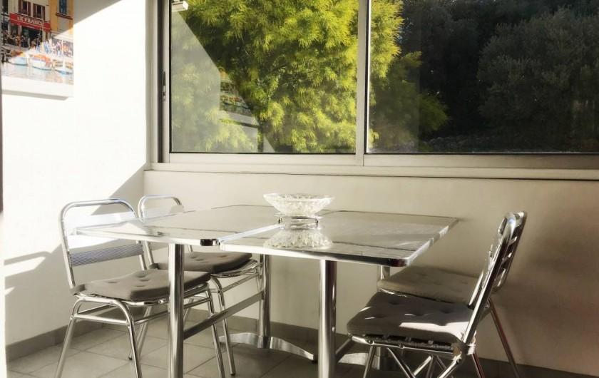 Location de vacances - Appartement à Cassis - VERANDA : Côté campagne