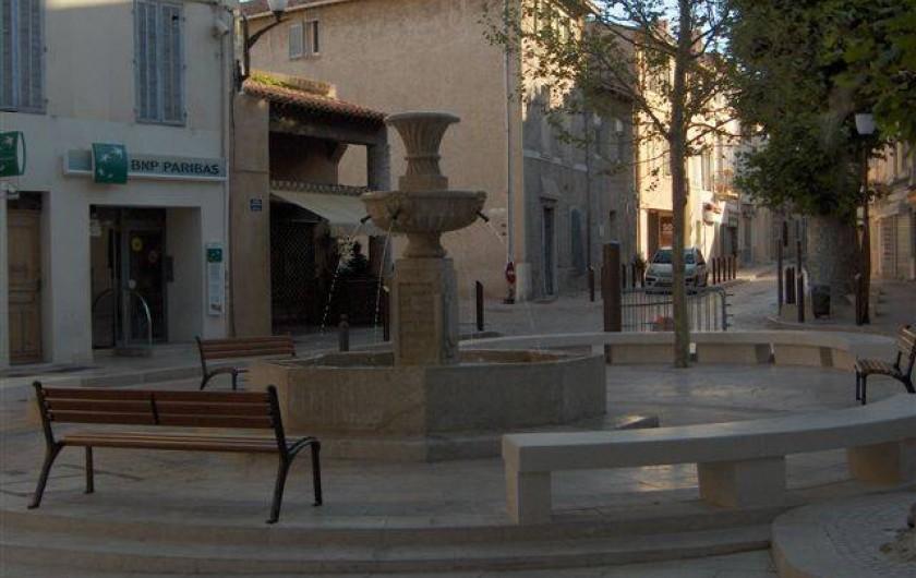 Location de vacances - Appartement à Cassis - LE CENTRE DU VILLAGE