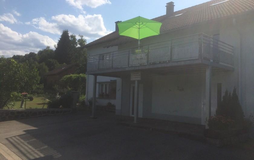 Location de vacances - Appartement à Ban-sur-Meurthe-Clefcy