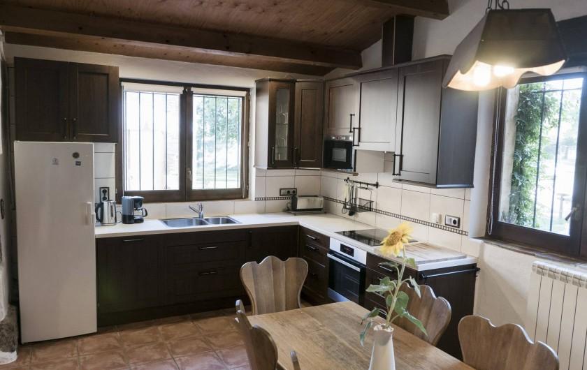 Location de vacances - Appartement à Castelló d'Empúries - La cuisine