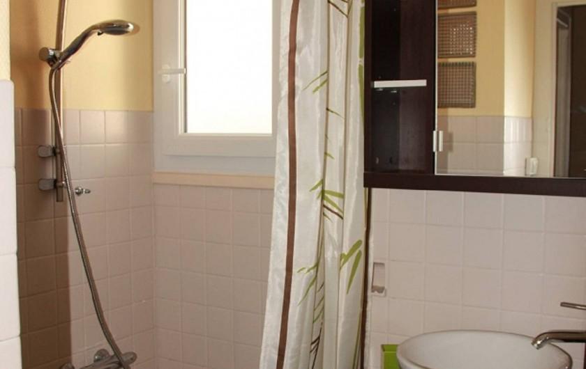 Location de vacances - Maison - Villa à Saint-Trojan-les-Bains - Salle de douche
