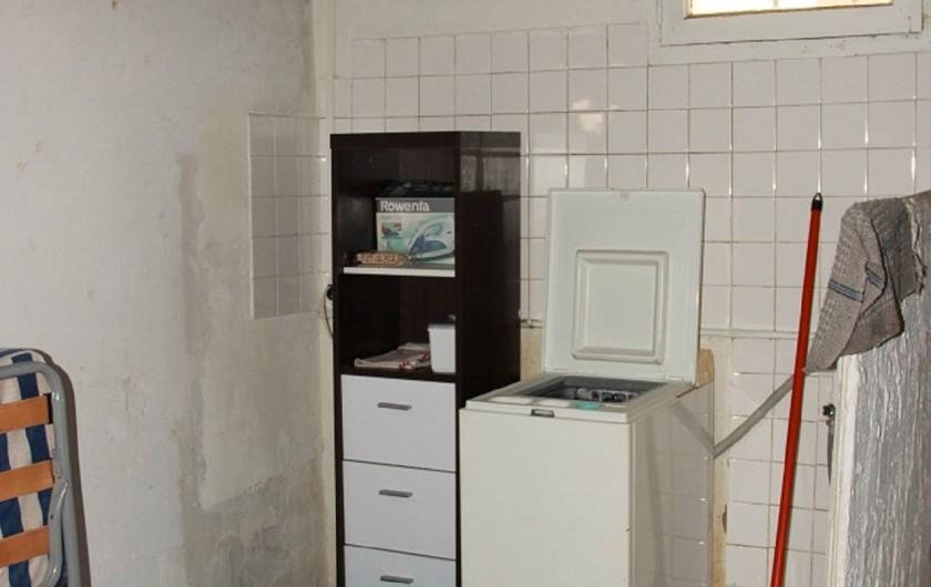 Location de vacances - Maison - Villa à Saint-Trojan-les-Bains - Machine à laver en sous sol