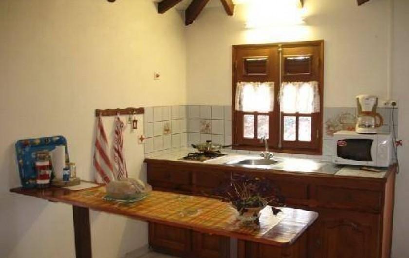 Location de vacances - Villa à Deshaies - Cuisine