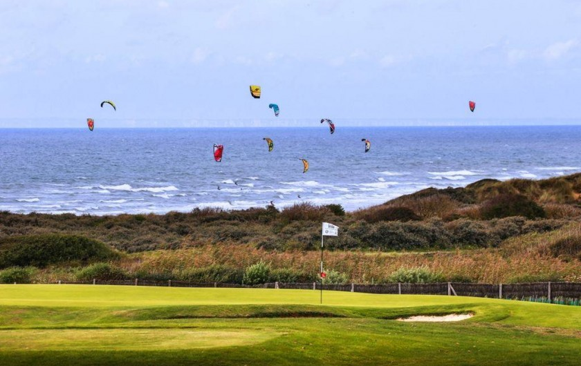 Location de vacances - Gîte à Widehem - Ailes volantes entre mer et green du Golf de Wimereux