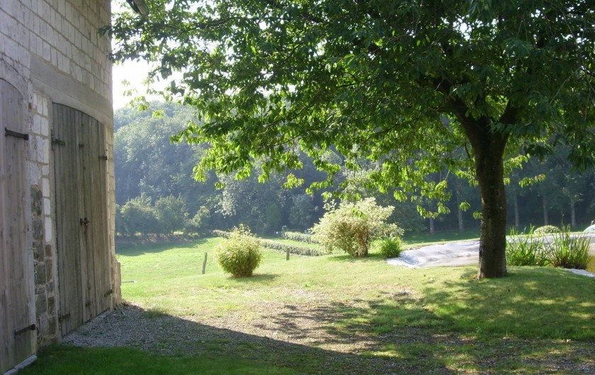 Location de vacances - Gîte à Widehem - Après la brume matinale, lumière et ombre sur la nature aux alentours