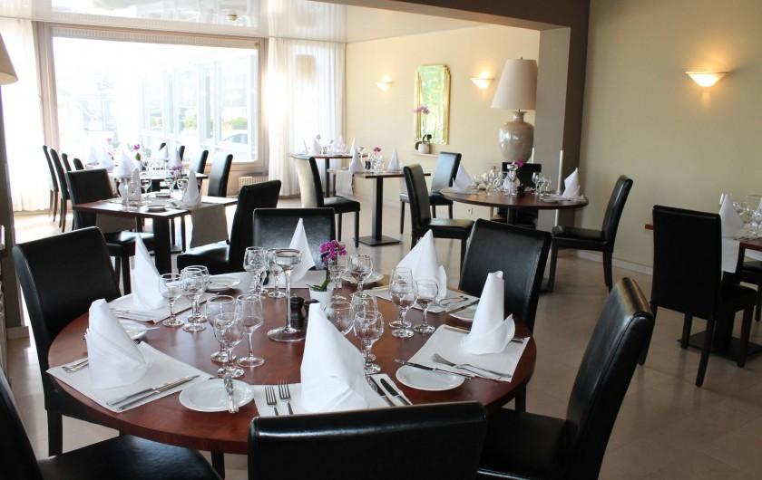 Location de vacances - Hôtel - Auberge à Philippeville - Notre côté restaurant