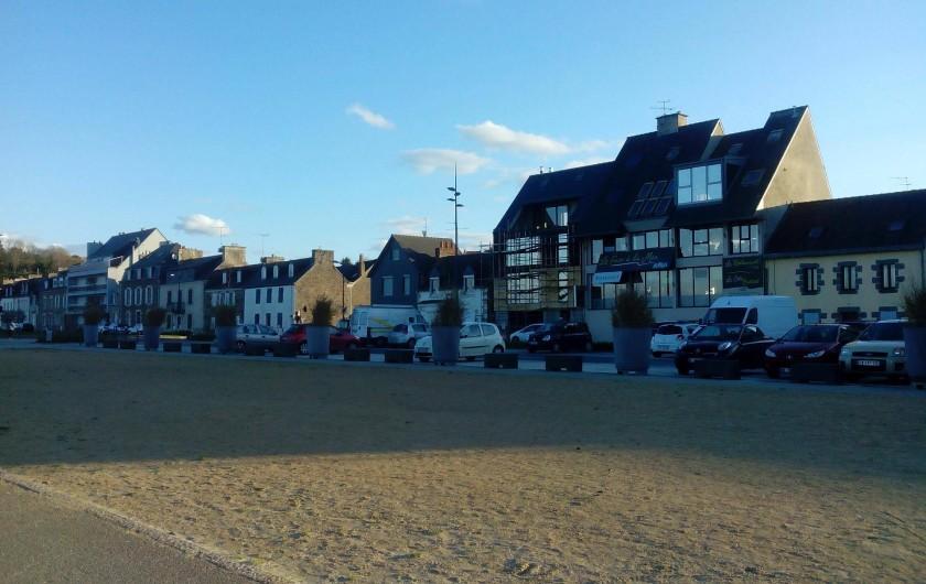 Location de vacances - Maison - Villa à Jeanménil - Vue sur la plage de la Banche