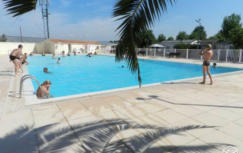 Location de vacances - Bungalow - Mobilhome à Saint-Aygulf - piscine