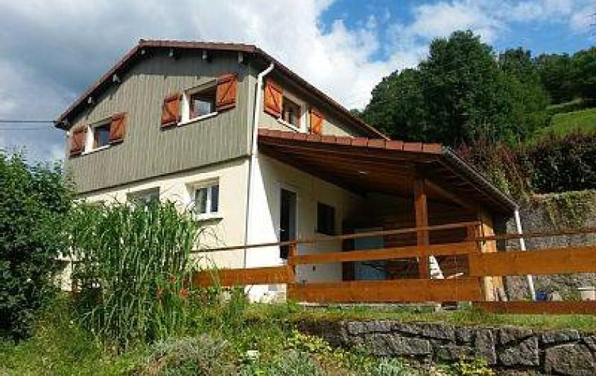 Location de vacances - Gîte à La Bresse - petite maison entièrement rénovée