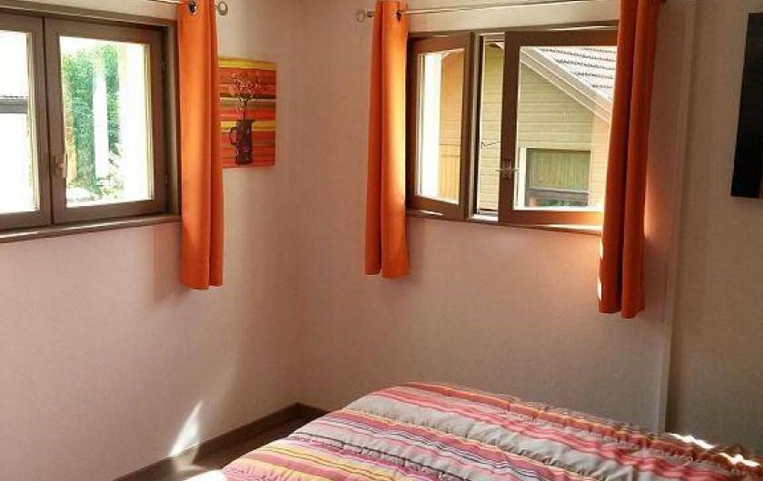 Location de vacances - Gîte à La Bresse - chambre avec grand lit double