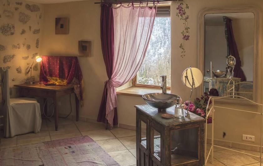 Location de vacances - Chambre d'hôtes à Génolhac - Clématite