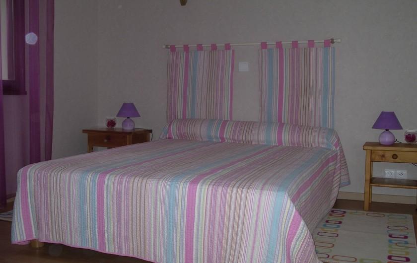 Location de vacances - Villa à Sanguinet - la chambre parentale