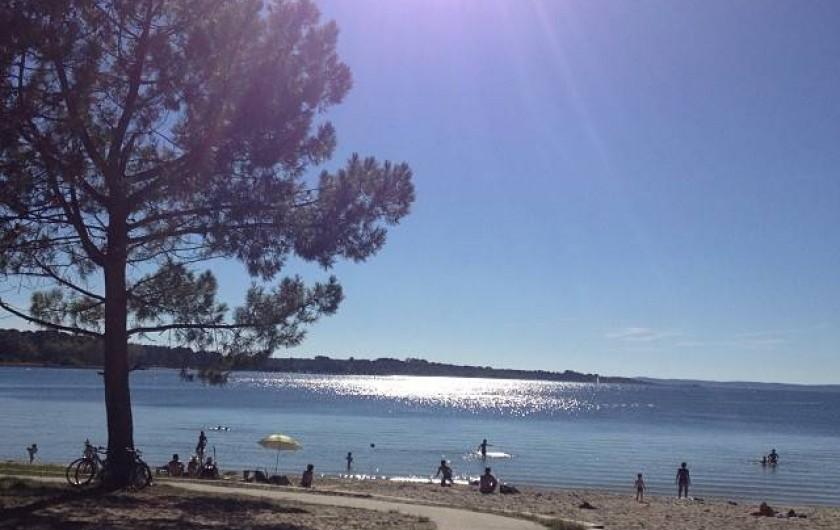 Location de vacances - Villa à Sanguinet - la plage de Caton