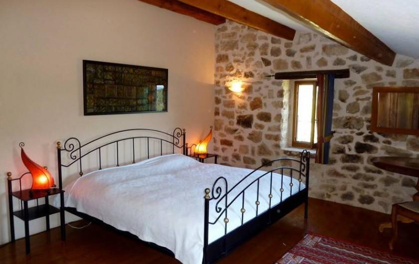Location de vacances - Gîte à Rosières - Chambre 2 (2ième étage)