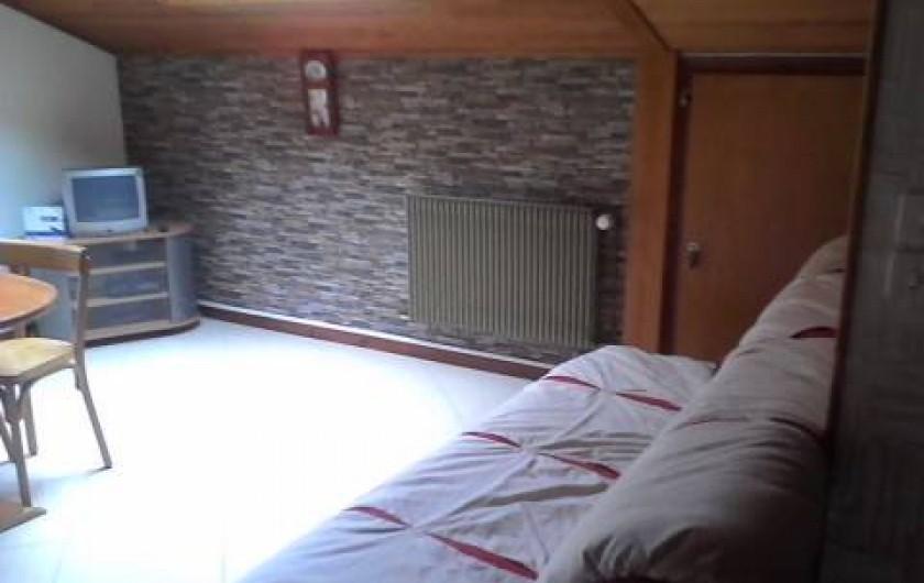 Location de vacances - Appartement à Abondance - Coin séjour