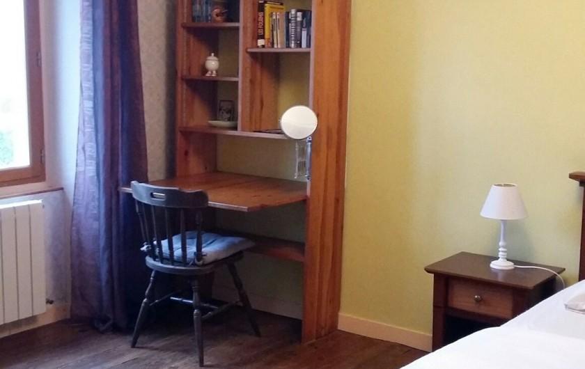 Location de vacances - Maison - Villa à Ploumoguer - Grande chambre - lit double