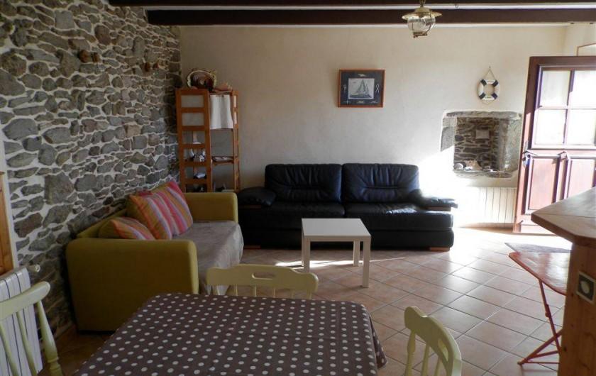 Location de vacances - Maison - Villa à Ploumoguer - Salon