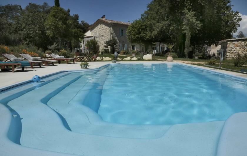 Location de vacances - Chambre d'hôtes à Aigremont - La Piscine du Mas