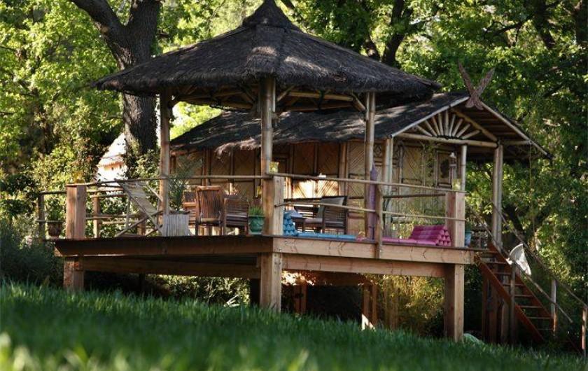 Location de vacances - Chambre d'hôtes à Aigremont - La maison Thaïlandaise 1