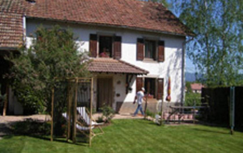 Location de vacances - Gîte à Cravanche