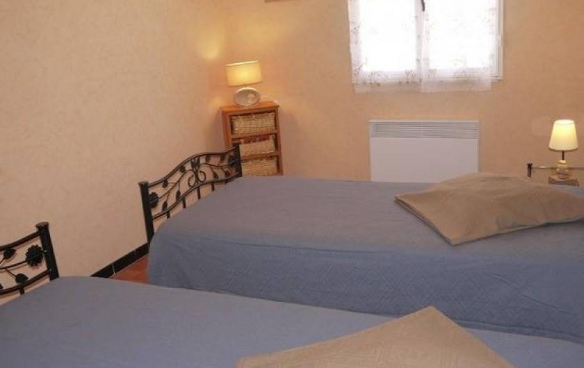Location de vacances - Gîte à Castifao - chambre2 photo2