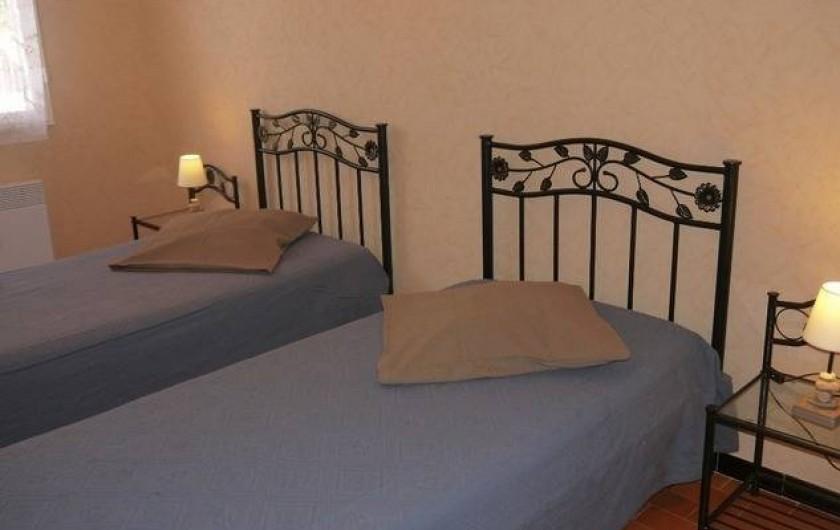 Location de vacances - Gîte à Castifao - chambre 2 photo1