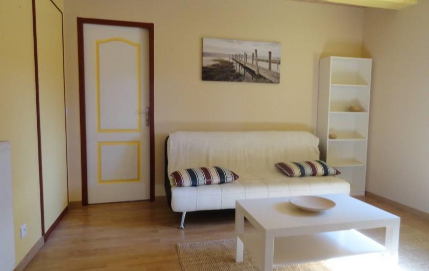 Location de vacances - Appartement à Pouillon - Le salon.
