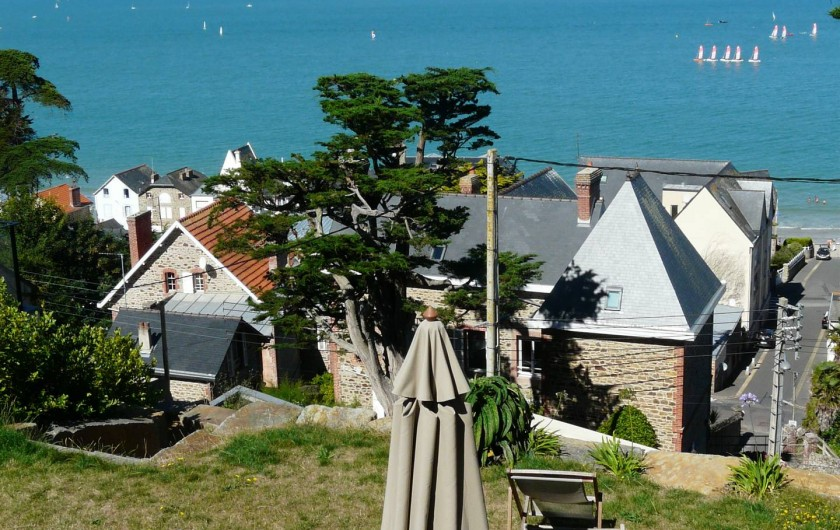Location de vacances - Maison - Villa à Pléneuf-Val-André - jardin terrasse