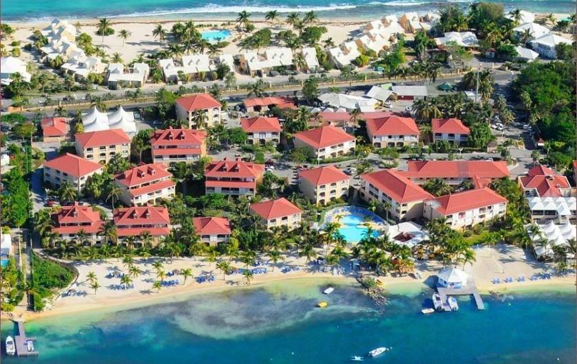 Location de vacances - Appartement à Marigot - Vue d'ensemble de la résidence