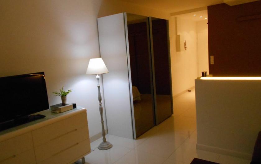 Location de vacances - Appartement à Marigot - Salon a