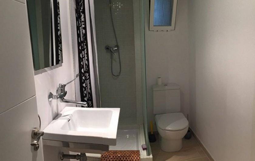 Location de vacances - Appartement à Salou - Salle d'eau et WC