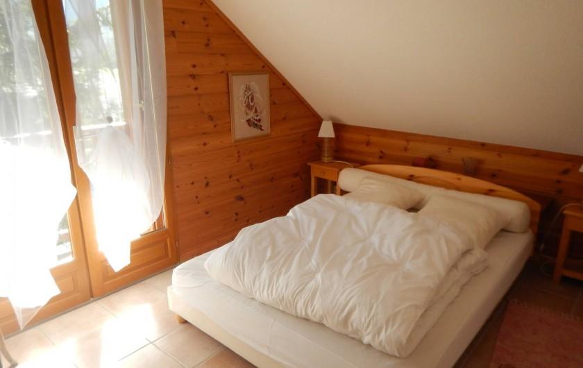 Location de vacances - Chalet à Crévoux - La chambre double
